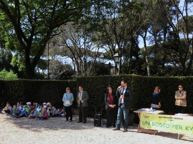 Manifestazione a Porta Metronia
