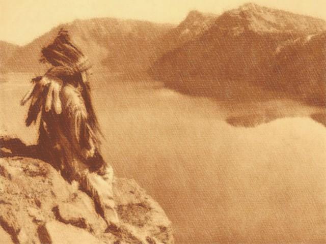 Hopi d'America - litografia