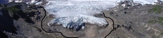 In 30 anni la superficie dei ghiacciai si è ridotta del 40%