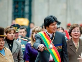 Il Presidente della Bolivia ha incontrato Accademia Kronos