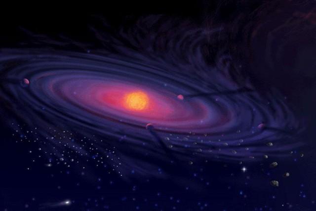 nascita sistema solare