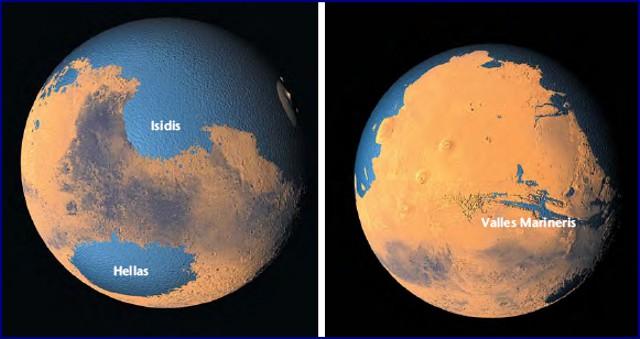 Oceani su Marte