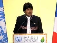 Dichiarazione di Evo Morales (COP 21)