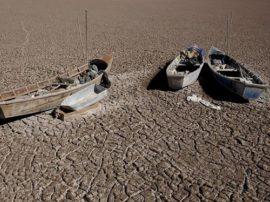 Effetti dei cambiamenti climatici su scala planetaria (il lago Poopò)