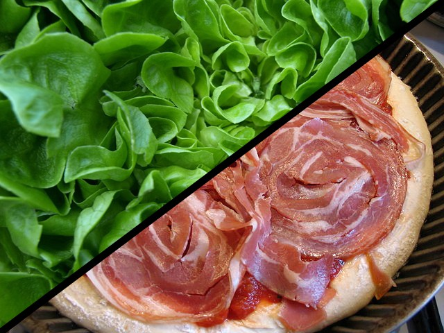 insalata vs pancetta