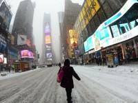 La tempesta di neve del secolo in USA