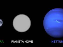 """Scoperto il pianeta """"Nove"""""""