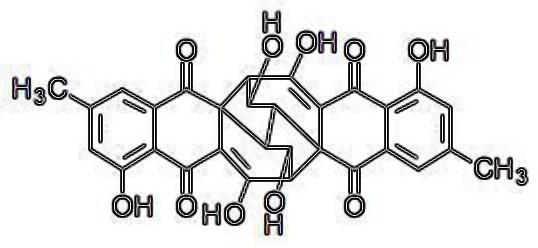 struttura della rugulosina