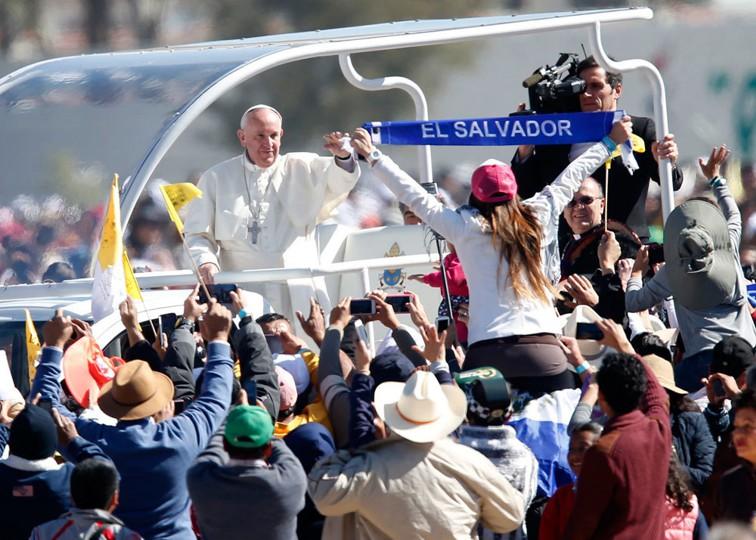 il Papa in Messico