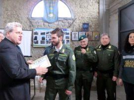 Premiate dal Vicequestore di Roma Eduardo Marcelli le guardie zoofilo ambientali di Accademia Kronos