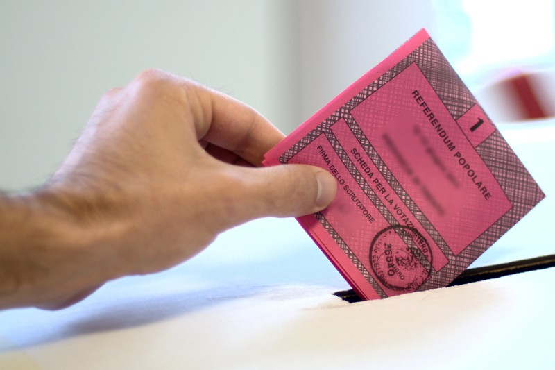 urna votazione