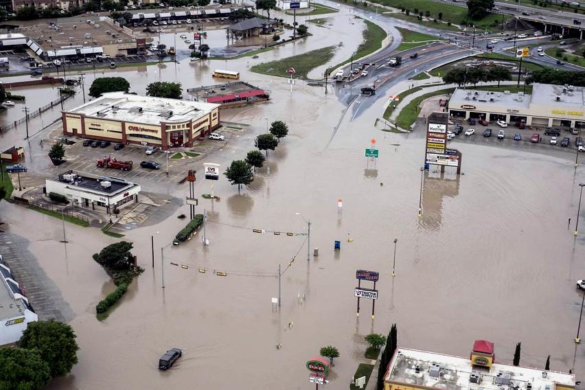 alluvione a Houston