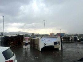 Meteo estremo su Arezzo: venti forti come quello di un uragano, le cause…