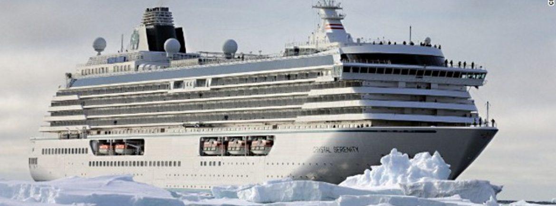 """Evento storico: """"grazie"""" ai cambiamenti climatici è partita la prima crocera attraverso il polo nord"""
