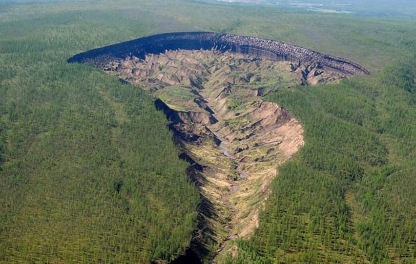 cratere di Batagai