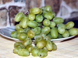 Fare il pieno di antiossidanti con l'uva