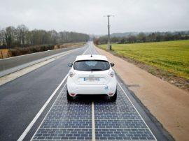 Inaugurata, in Francia, la prima strada solare del mondo