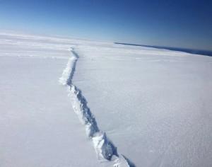 E' iniziato il tanto temuto collasso dei ghiacci dell'Antartide