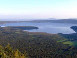 Secondo controllo satellitare sul lago di Vico