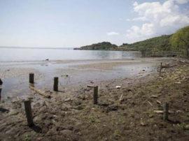 Il lago di Bracciano sta sparendo
