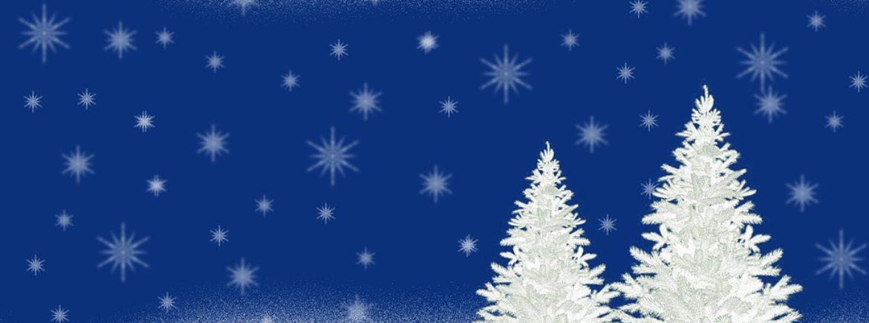 Due alberi di Natale in vetroresina riciclata