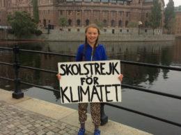 """Greta Thunberg è l'eroina di appena 15 anni che sta per """"svegliare"""" le umane coscienze"""