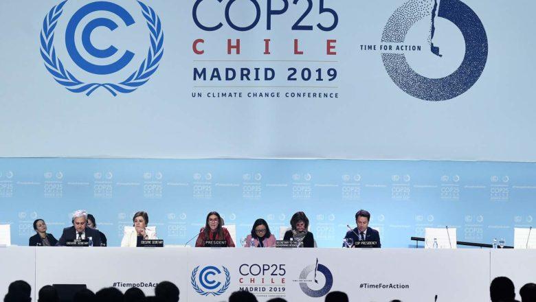 Una conclusione profondamente deludente (COP25)
