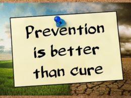 Prevenire meglio che curare