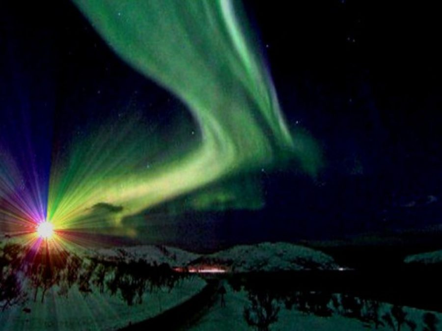 Eccezionale, un'Aurora Boreale visibile fino nel sud dell'Inghilterra