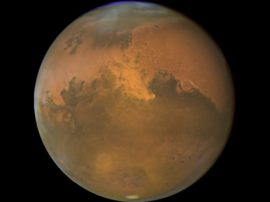 Su Marte una volta c'era l'acqua