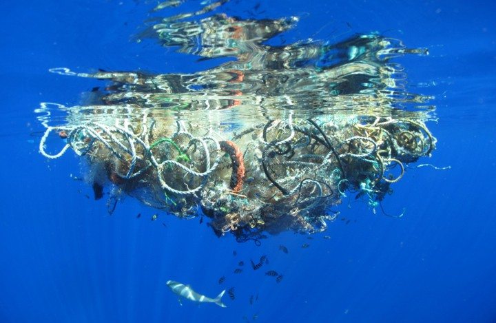 plastic ocean trash