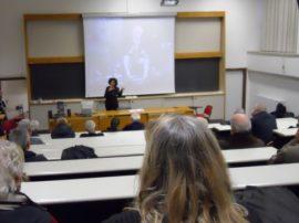 Commovente cerimonia all'università della Tuscia in ricordo di Roberto Minervini