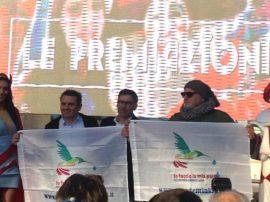 """Premio """"Io faccio la mia parte"""" a due carri allegorici di Viareggio"""