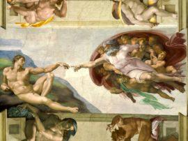 Scopriamo i messaggi nascosti di Michelangelo (l'eretico) nell'affresco della Cappella Sistina