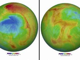 Ogni tanto una buona notizia… il buco dell'ozono nell'Artico non c'è più!