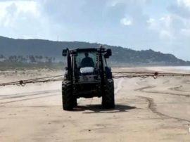Stop ad operazioni irresponsabili sull'Ambiente (sanificazione delle spiagge)